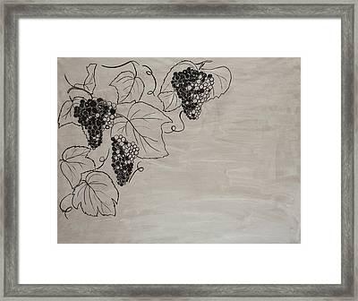 The Harvest/2 Framed Print