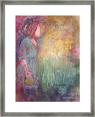 The Harvest Framed Print by Deborah Nell