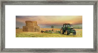 The Harvest Is Plentiful Framed Print by Lori Deiter