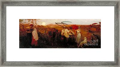 The Harvest Moon Tate Britain Framed Print by MotionAge Designs