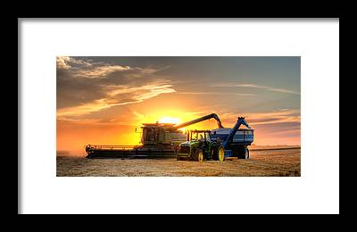 Farming Framed Prints