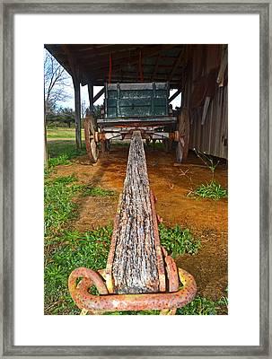 The Harvest Wagon 001 Framed Print