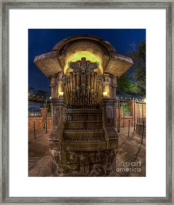 The Haunted Organ Framed Print