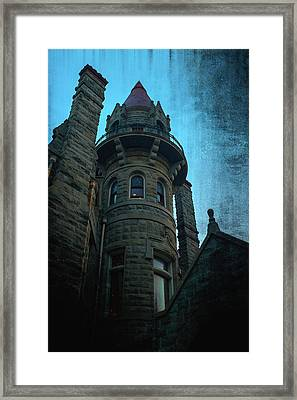 The Haunted Tower Framed Print by Keith Boone