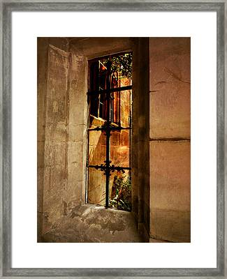 The Haunted Window Framed Print