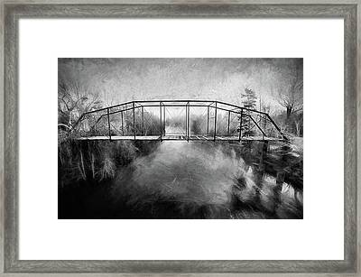 Framed Print featuring the digital art The Haunting by JC Findley