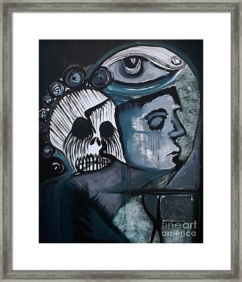The Haunting Of Jodi Framed Print