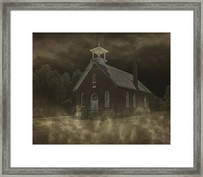 The Haunting Of Schoolhouse 12 Framed Print