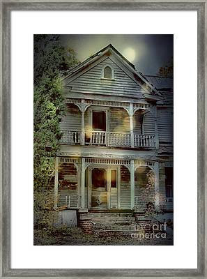 The Haunting Framed Print by Sari Sauls