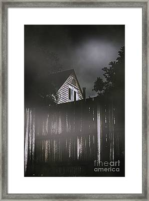 The Haunts Live Next Door Framed Print by Jorgo Photography - Wall Art Gallery