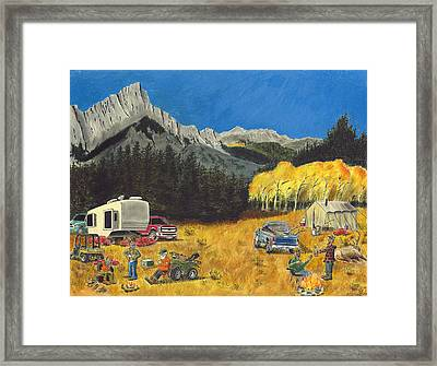 The Haves And The Have-nots Framed Print by Tim Koziol