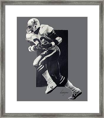 The Hawk Framed Print by Dwayne Lester