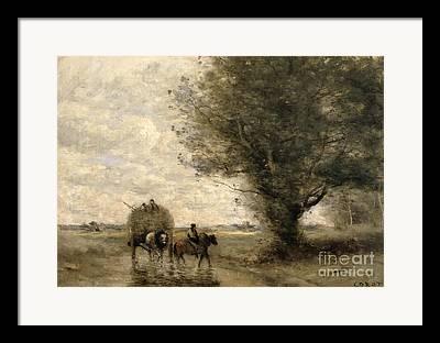 Cart Horse Framed Prints