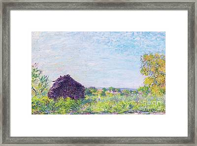 The Haystack, 1877 Framed Print by Alfred Sisley