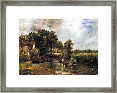 The Haywain Framed Print by John Constable