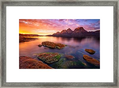 The Hazards Framed Print by Lincoln Harrison