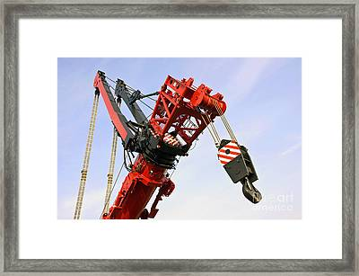 The Head And Primary Hoist Framed Print