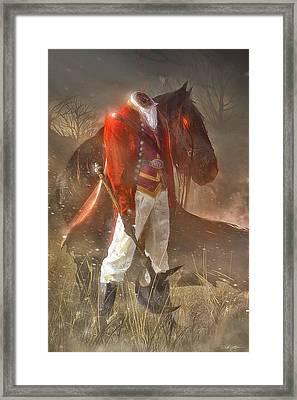 The Headless Horseman Framed Print by Sheila Mcdonald