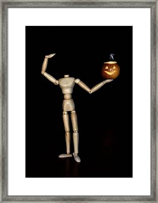 The Headless Woody Framed Print