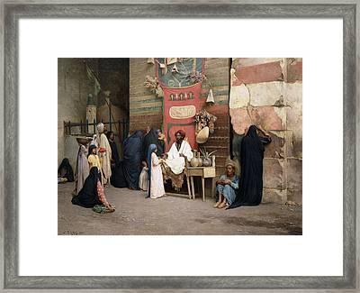 The Healer, 1891 Framed Print