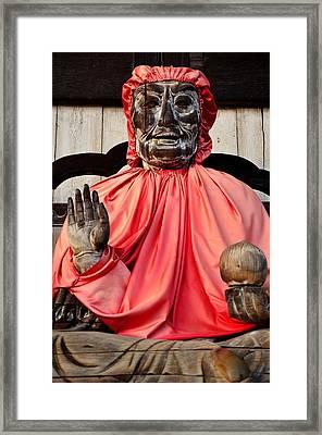 The Healer Framed Print by Dean Harte