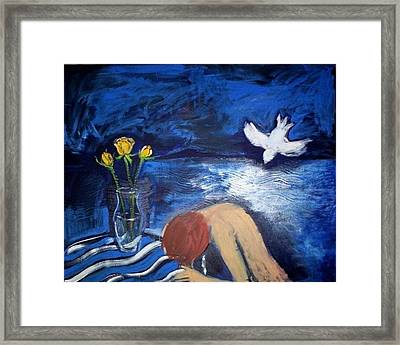 The Healing Framed Print