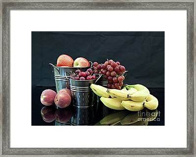 Framed Print featuring the photograph The Healthy Choice Selection by Sherry Hallemeier