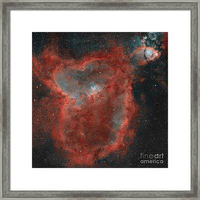 The Heart Nebula Framed Print