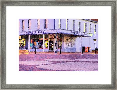 The Heart Of Auburn Framed Print by JC Findley