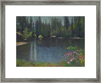 The Heart Of California Framed Print