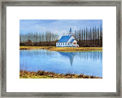 The Heart Of It All - Landscape Art Framed Print