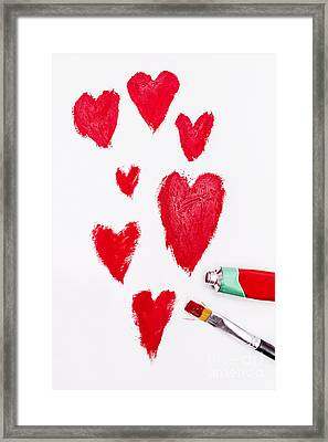 The Heart Of Love Framed Print by Jorgo Photography - Wall Art Gallery