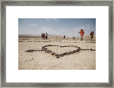 The Heart Of The Desert Framed Print