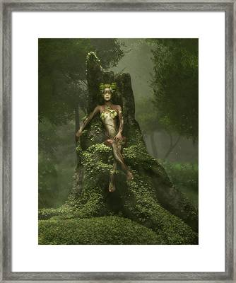 The Heart Of The Forest Framed Print by Melissa Krauss