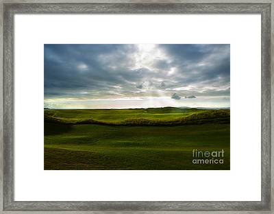 The Heavenly Game Framed Print by Diane Diederich