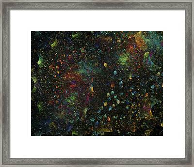 The Heavens Framed Print