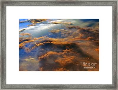 The Heavens Declare #2 Framed Print by Lydia Holly