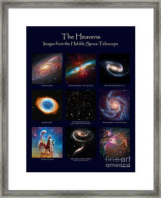 The Heavens - Images From The Hubble Space Telescope Framed Print