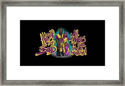 The Hebrew Family2016 Framed Print