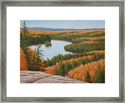 The Height Of Autumn Framed Print