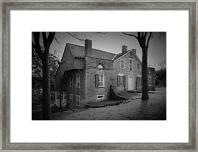 The Heinrich Kreische House Framed Print by Dennis Nelson