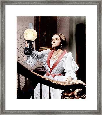 The Heiress, Olivia De Havilland, 1949 Framed Print by Everett