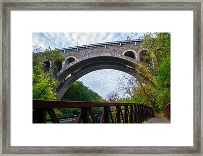 The Henry Avenue Bridge Framed Print by Bill Cannon