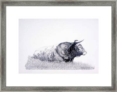 The Herdmaster Framed Print by Howard Dubois