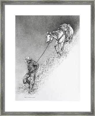 The Herdsman Framed Print