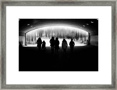 The Here And Now Framed Print