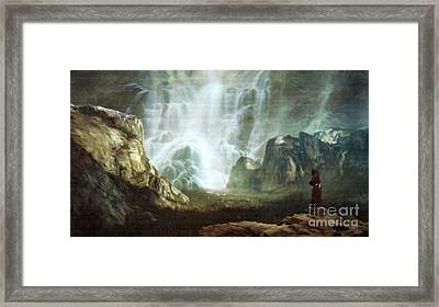 The Hermit By Sarah Kirk Framed Print