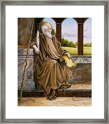 The Hermit Nascien Framed Print