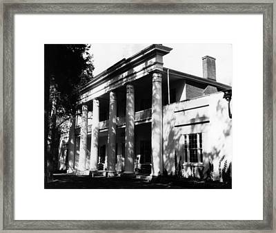The Hermitage, Home Of President Andrew Framed Print