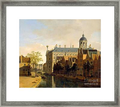 The Hermitage Museum Framed Print by MotionAge Designs